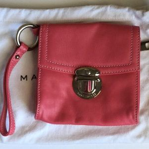 Marc Jacob pink wristlet